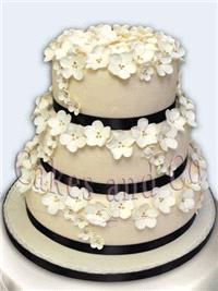 Cakes. Flower Dream Wedding Cake