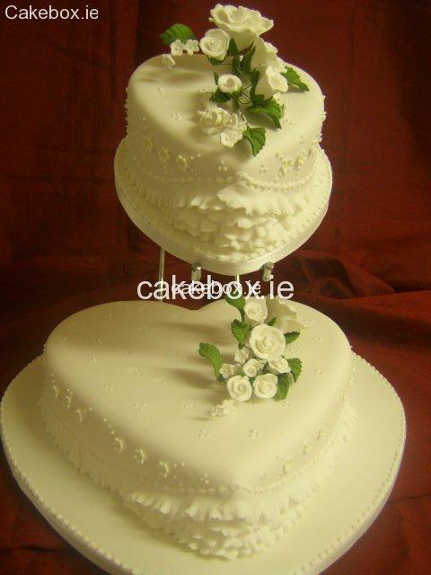 Cakes, Young Hearts Wedding Cake
