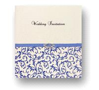Stationery. Desire Day Invitation. White pearlescent card layered on the inside with white pearlesce