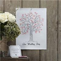 Stationery. Vintage Affair Fingerprint Tree. Pack contains x 2 baby pink and x 1 dark pink ink pads.