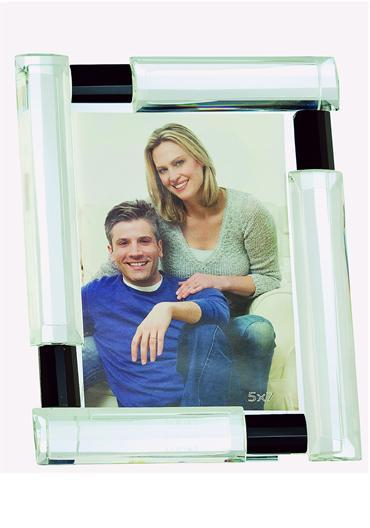 Photography, Galway Crystal Deco 5 x 7_ Photo Frame.