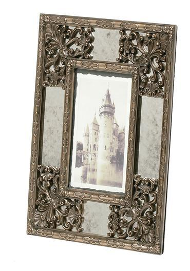 Photography, Cast bronze Genesis Abbey Frame (7 X 5 inches photo). Height: 11.5 inches, width: 9.5 i