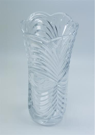 Decor & Event Styling, Killarney Crystal Blossom Vase. Height: 24cm.