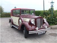 Chauffeurs. 1920 Convertible Regent. All vintage wedding cars are in immaculate condition. Supplied