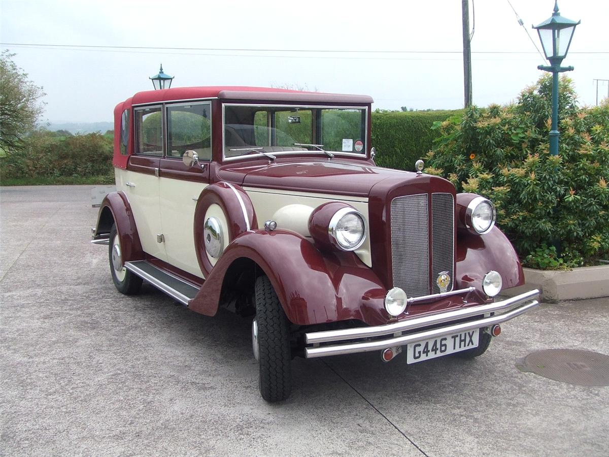 Chauffeurs, 1920 Convertible Regent. All vintage wedding cars are in immaculate condition. Supplied