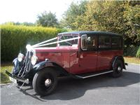 Chauffeurs. 1933 Austin 26. All vintage wedding cars are in immaculate condition. Supplied with a un