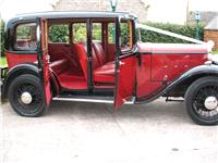 Chauffeurs. Austin 124. All vintage wedding cars are in immaculate condition. Supplied with a unifor