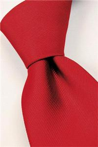 Attire. Real-red tie. Connexion ties are hand finished to the highest quality and are 100% silk. Det
