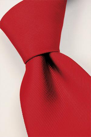 Attire, Real-red tie. Connexion ties are hand finished to the highest quality and are 100% silk. Det