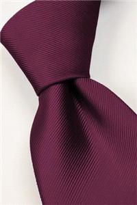 Attire. Tie (aubergine). Connexion ties are hand finished to the highest quality and are 100% silk.