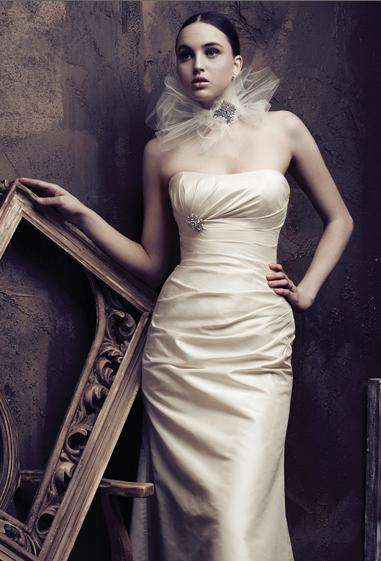 Bridal Dresses, Paloma Blanca wedding dress (ref. 4013).