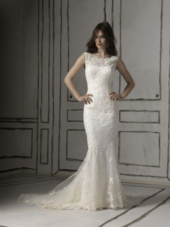 Bridal Dresses, Justin Alexander wedding dress (ref. 8530). Collection inspired by the 1950s and 196