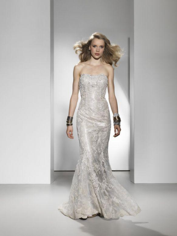 Bridal Dresses, Justin Alexander wedding dress (ref. 9690). Collection inspired by the 1950s and 196