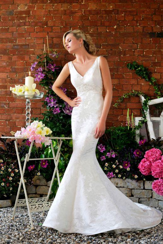 Bridal Dresses, Margaret Moreland 'Selina' wedding dress. Designed exclusively for The Bridal Outlet