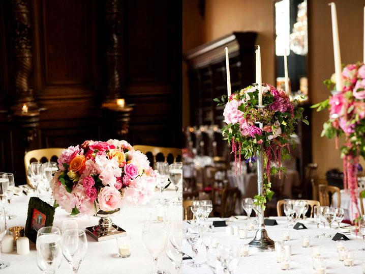 Flowers, Table centrepieces. All flowers are shipped directly from Holland guaranteeing top quality