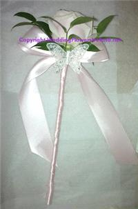 Flowers. Flowergirls' Butterfly Wand. Wedding packages available.