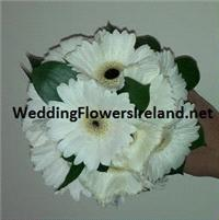 Flowers. Bridesmaids gerbera bouquet. Wedding packages available.