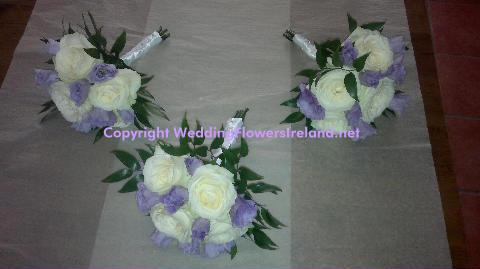 Flowers, Lavender-and-Ivory bouquet. Wedding packages available.