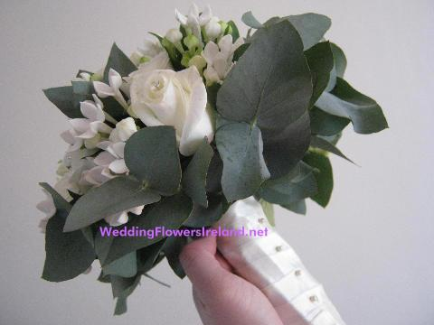 Flowers, Satin-Wrap bouquet. Wedding packages available.