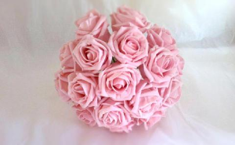 Flowers, Light-pink rose bouquet. Wedding packages available.