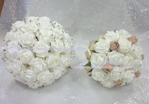 Flowers, Ivory bride and bridesmaid set. Wedding packages available.