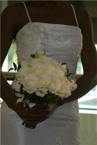 Flowers. Bridal bouquet. Wedding flowers, church flowers, wedding chair covers, fairylight backdrops