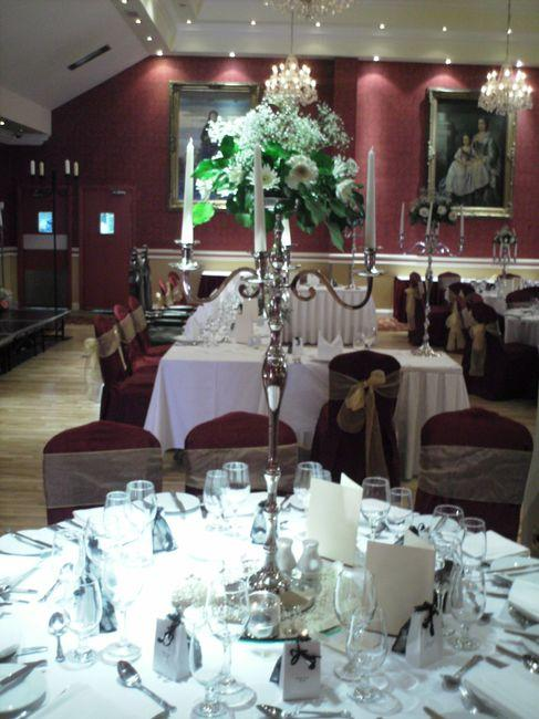 Decor & Styling, Decorated candelabra. Wedding flowers, church flowers, wedding chair covers, fairyl