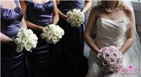 Flowers. Bride and bridesmaids bouquets. Services provided: wedding flowers, chaircovers, table cent