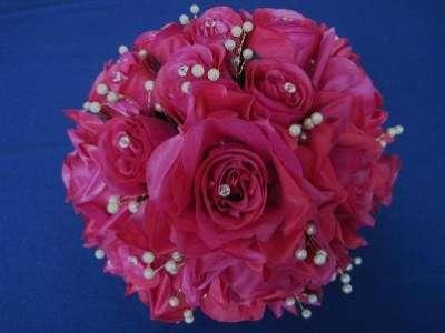 Flowers, Simply Fuchsia bouquet