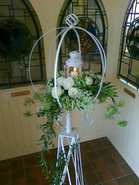 Flowers, Church flower arrangement. Wedding packages available.