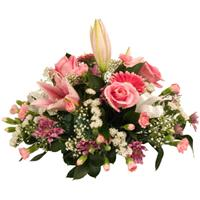 Flowers. Table Posy. A posy of flowers ideal as a centre piece.