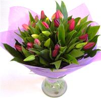Flowers. Vibrant Hand Tied of mixed flowers.
