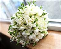 Flowers. Window flower arrangement. Personalised wedding packages available.