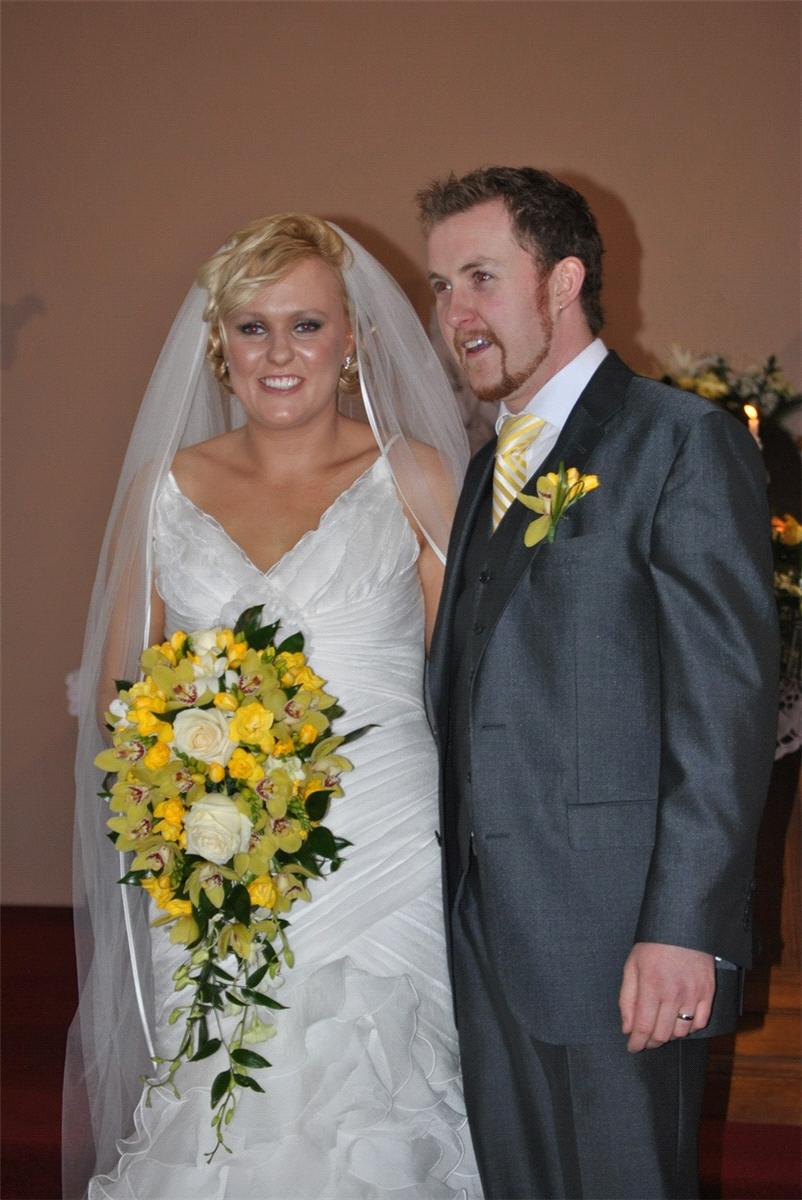 Flowers, Bridal bouquet and buttonhole. Personalised wedding packages available.
