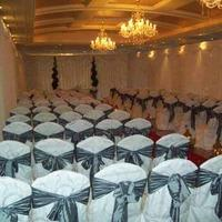 Decor & Event Styling. White back drop.