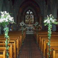 Ceremony Decor, Floral Pew Ends.