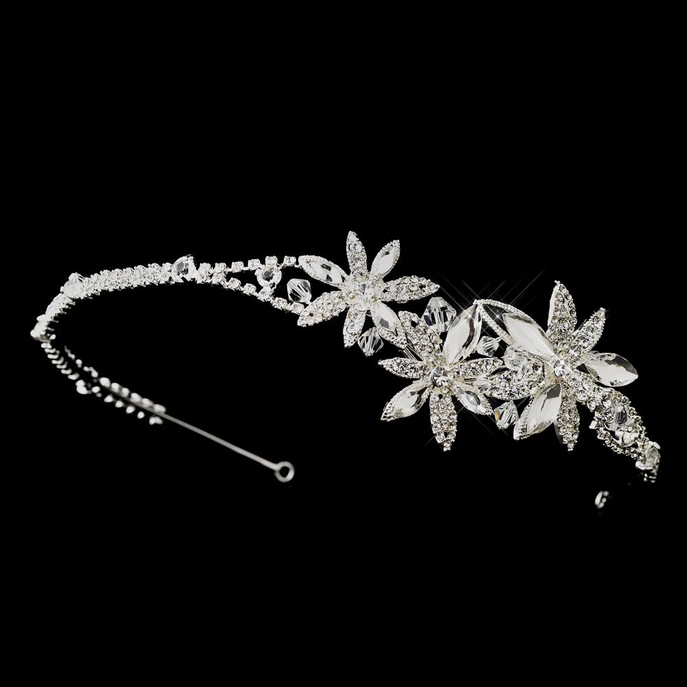 Jewellery, Mia. Can be worn as a headband or tiara, this couture styled bridal headband has a chic s