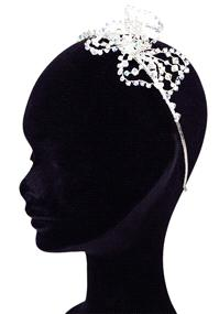 Jewellery. Arianna headband (Ref. FH2823 37529444) with a Swarovski crystal flower fitted to the sid