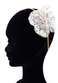 Jewellery. Emily Jean Petal headpiece (Ref. EJDPETAL 39019998). Features a flower fitted to the side