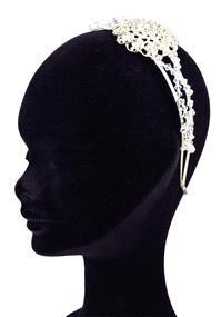 Jewellery. Pretty Bling Glitter headband (Ref. PBBGlitter 38846683). Features Swarovski crystal wrap