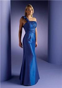 Attire. Bridesmaids 5 dress (blue).