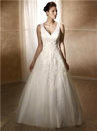 Attire. Marcia wedding dress.