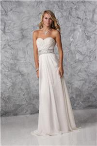 Bridal Dresses. Lady wedding dress. A Beautiful light weight chiffon gown perfect for a wedding abro