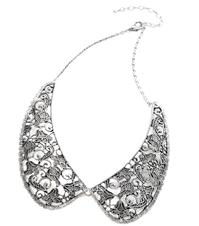 Jewellery. Lace Look Collar Necklace. A trendy lace style collar necklace.
