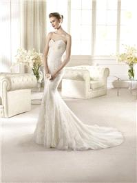 Bridal Dresses. San Patrick Califa wedding dress.