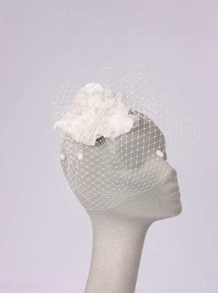 Attire, Rosette Birdcage. Bespoke adaptations available by request.