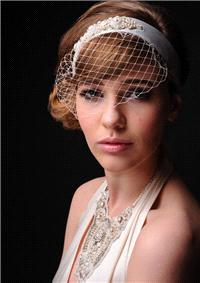 Attire. Carina birdcage and neck piece.