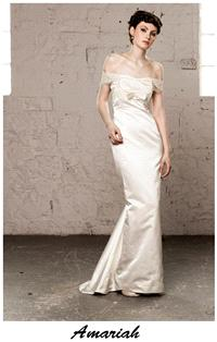 Bridal Dresses. Claire O'Connor's _W_ collection: Amariah wedding dress.