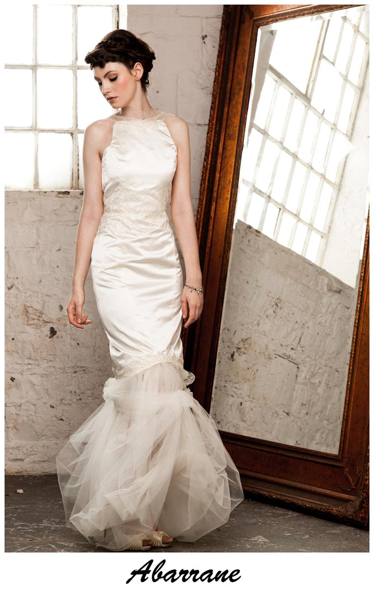 Bridal Dresses, Claire O'Connor's _W_ collection: Abarrane wedding dress.