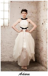 Bridal Dresses. Claire O'Connor's _W_ collection: Adara wedding dress.